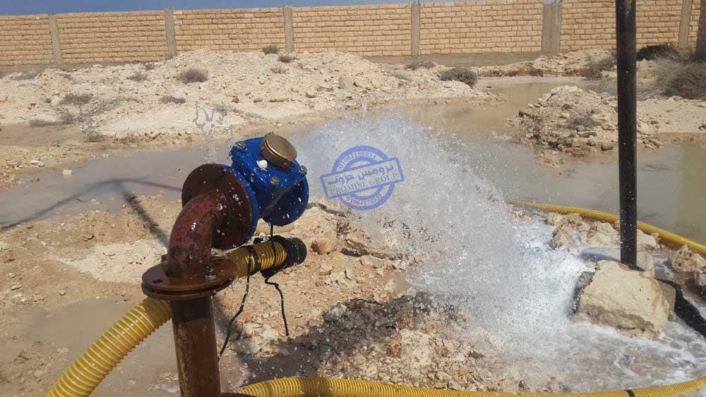 عمليات تجارب الضخ في الابار (pump test).